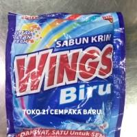 Sabun Cream WINGS BIRU WB350 | Sabun Krim Colek WINGS Deterjen WB 350