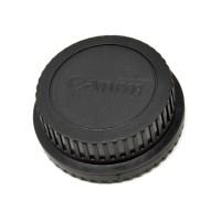 Front Cover & Rear Lens Cap for Canon tutup depan belakang lensa unive