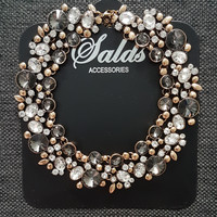 Kalung aksesoris statement necklace branded zara murah 413