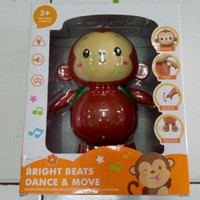 MAINAN ANAK BABY FRIENDS MONKEY  DANCE & MOVE