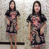Blouse / Dress Batik Cheongsam Rambat