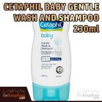 Cetaphil Baby Gentle Wash and Shampoo / Sabun dan Sampo Bayi 230ml