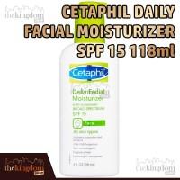 Cetaphil Daily Facial Moisturizer / Pelembab Wajah SPF 15 118ml