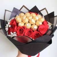 Bouquet Bunga / Buket Bunga / Cokelat / Valentine / Hadiah