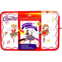 Faber-Castell Connector Pen Ballerina Music Box Hadiah Kreatif Mainan