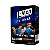 L-Men Gain Mass 500gr Susu Weight Gainer Whey Protein Lmen Gainmass