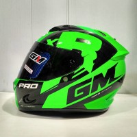 Helm Gm. Type Race Pro Z650. Full Face. Barang Bagus