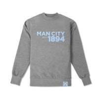 Jaket Sweater Jumper Manchester City Est 1894 Jersey Grade Ori Murah