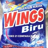 Sabun Cream WINGS BIRU WB2K | Sabun Krim Colek WINGS Deterjen WB 2 K