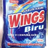 Sabun Cream WINGS BIRU WB500 | Sabun Krim Colek WINGS Deterjen WB 500