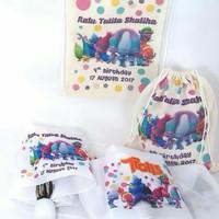 souvenir hampers payung lipat ulang tahun newborn aqiqah