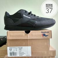 Sepatu  Reebok Royal CL JOG 2 SEA black ORIGINAL bnib