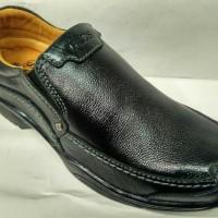 sepatu kulit gats MP 2602 brown ori