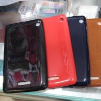 soft jelly case glossy warna warni for advan i7a