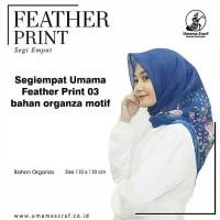 Jilbab Segiempat Organza 004/Square/Segi Empat/Hijab/Syar'i/Kerudung