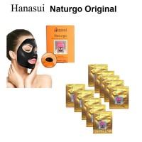 MASKER LUMPUR NATURGO HANASUI/ Buah -ORIGINAL BPOM