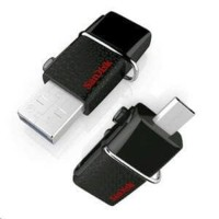 (Dijamin) Flashdisk Sandisk Dual Drive 16GB Flash Disk Otg Sandisk