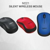(Diskon) Logitech Mouse Wireless M221 Silent Plus