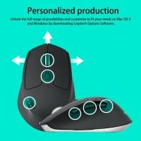 (Dijamin) Logitech M720 Triathlon Multi Device Wireless Mouse