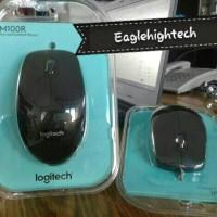 (Diskon) Logitech Mouse M100r Mouse Kabel