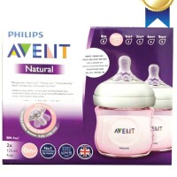 Avent Botol Susu Isi 2 Pcs / Avent Bottle Natural Twin Pack 125 ml