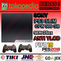 PS3 Slim 500GB CFW Seri 25XX