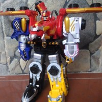 DX MEGAZORD GOSEI GREAT JAPAN VERSION ORI BANDAI
