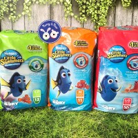 Huggies Little Swimmers / Popok Renang / Swim Diaper - Size L