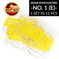 Senar Gitar Elektrik No. 1 (E) 009 GES-103 (ISI 12 PCS)