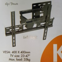 BRACKET TV LED LCD - BREKET TV - BRAKET TV 23 -40 INCH KENZO KZ 21