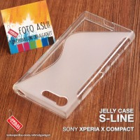 Soft Jelly Case Sony Xperia X Compact Softcase Silikon Casing Cover