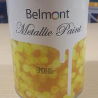 Belmont Metallic Paint 1L (cat tembok metalik/cat tembok emas)