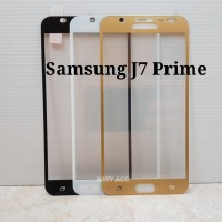 Anti Gores Tempered Glass Samsung J7 Prime Warna
