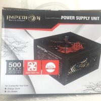 power supply gaming imperion 500w psu 500watt new imperion Promoo