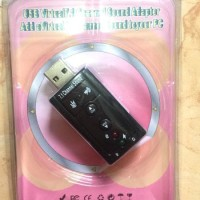 7.1 Channel USB External Sound Card Audio Adapter Promoo