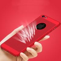 Breathable Cooling Heat Dissipation Case Casing iPhone 6 6S 7 8 X Plus - Biru, 6 atau 6S