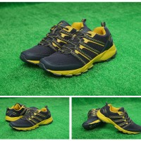Sepatu Outdoor Keta 192 GREY YELLOW / running / olahraga