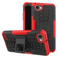 Casing Rugged Armor LG Q6 Q6A/ Q6 PLUS/ G6 GEMINI Soft Case Kick Stand