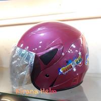Helm Anak Kop Junior - Gambar Marsha And The Bear