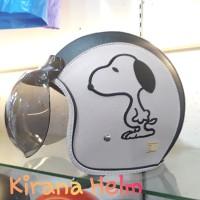 Helm Bogo Original - Gambar Snoopy
