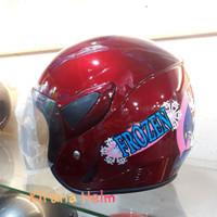 Helm Anak Kop Junior - Gambar Frozen