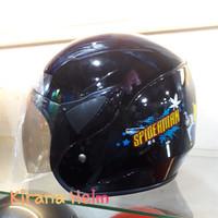 Helm Anak Kop Junior - Gambar Spiderman