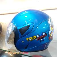 Helm Anak Kop Junior - Gambar Tom And Jerry