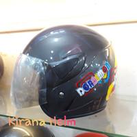 Helm Anak Kop Junior - Gambar Doraemon