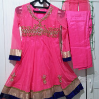 Baju India anak Muslim/Baju pesta import