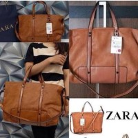 Tas wanita branded handbag cewek murah import, Zara basic original