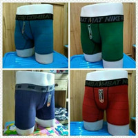 Celana Dalam Boxer 1 Lusin (12 pcs) Adem dan Nyaman di Pakai