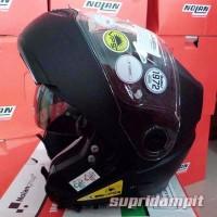 Helm Nolan N104 Classic Flat Black Modular Touring double visor