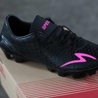 Sepatu Bola Specs Accelerator Exocet FG Black Bent Magenta Original