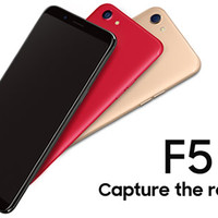 Garansi Resmi Oppo F5 YOUTH 3/32GB -Black & Gold